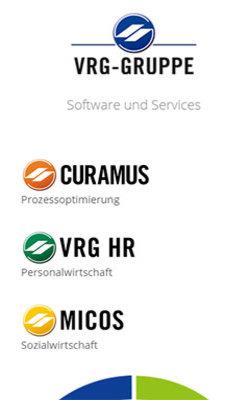 TYPO3 Auftritt VRG-Gruppe – Software und Services - Partner für das tägliche IT-Business - zur Website