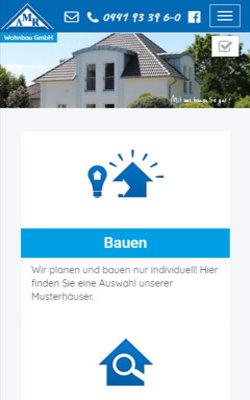 TYPO3 Relaunch der Webseiten AMR Wohnbau GmbH - zur Website