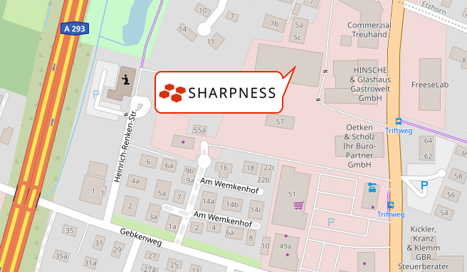 Standort bei Google Maps anzeigen - Link zu externer Seite